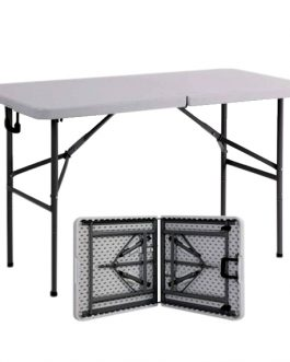 Height Adjustable Folding Table