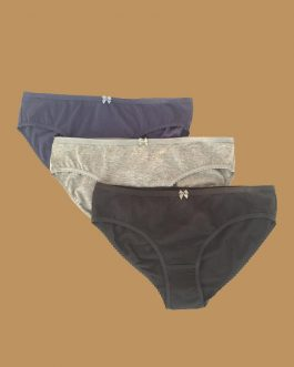Ladies Panties Set – 3pc (Low Rise)