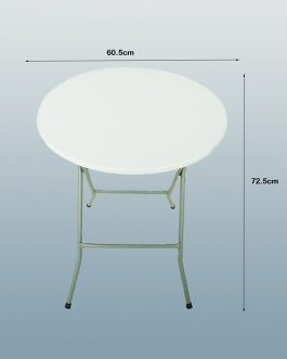 Round Plastic Folding Table