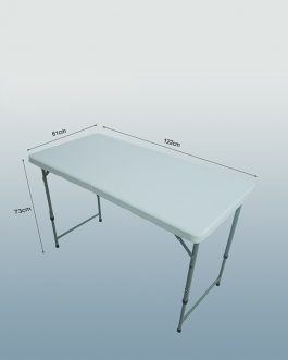 Rectangle Plastic Folding Table