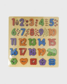Kids Educational Toy – Numbers Wooden Puzzle